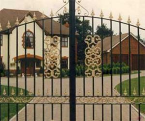 Bespoke Metal Electric Gates